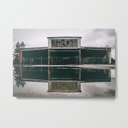 U.S. Pipe abandoned factory Metal Print