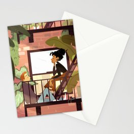 Morning in the City  Stationery Cards