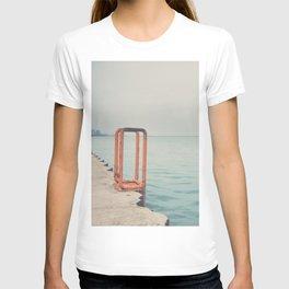 the orange steps ... T-shirt