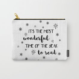It's the most wonderful time of the year to read Carry-All Pouch