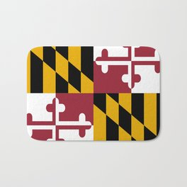 flag of maryland-america,usa,Old Line State,marylander, America in Miniature,Baltimore,Columbia Bath Mat