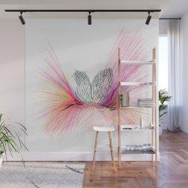 Alas rosadas GLOJAG Wall Mural