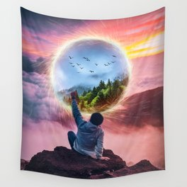 Portal Effect by GEN Z Wall Tapestry