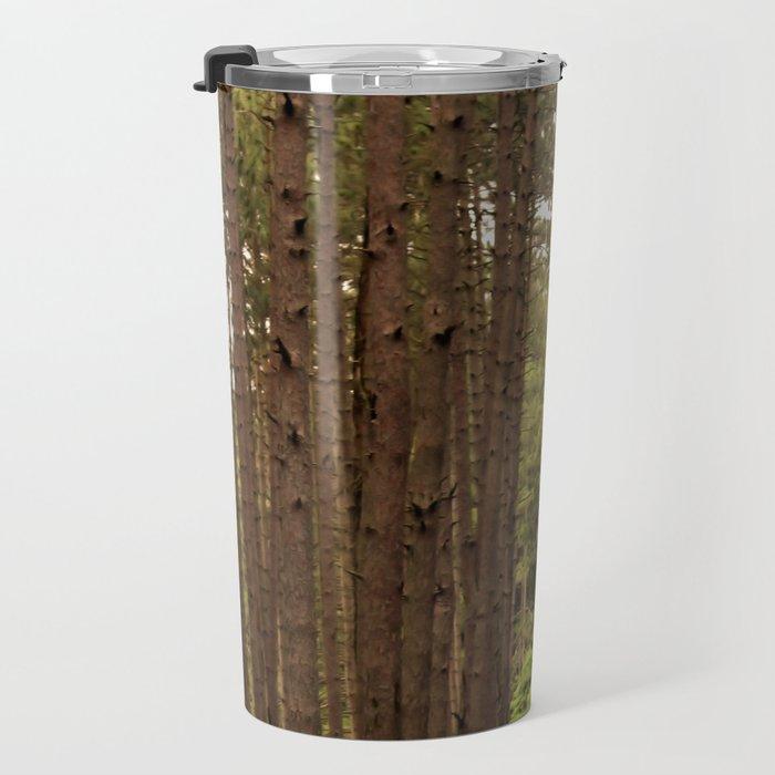 Tree Lines Travel Mug