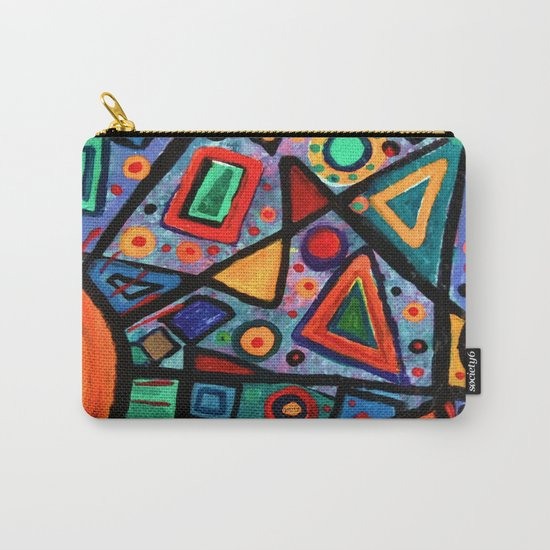 Abstract Sun Carry-All Pouch