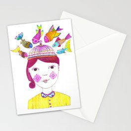 Fishy Business Stationery Cards
