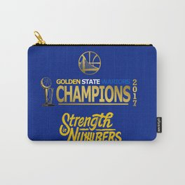 Wariors Champions 2017 Carry-All Pouch