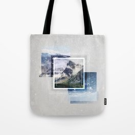 Inspiring mountain Tote Bag