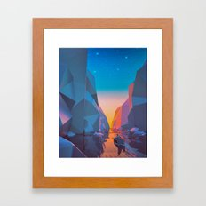 SHIP SAILED (everyday 03.26.16) Framed Art Print