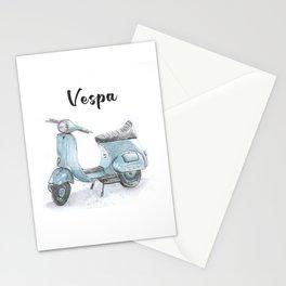 Vespa Scooter Stationery Cards