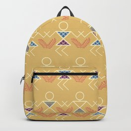 Summer Warli Print Backpack