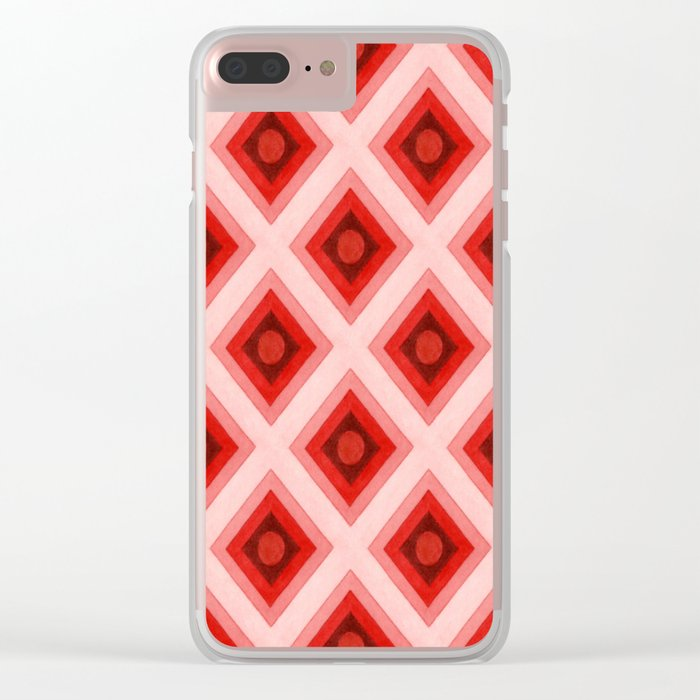 Groovy Festival Clear iPhone Case