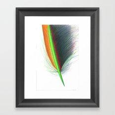 Feather #9 Framed Art Print