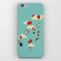 flight iPhone & iPod Skins featuring We Can Fly! by Jay Fleck