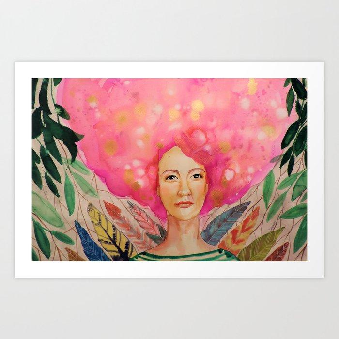 thelma Art Print