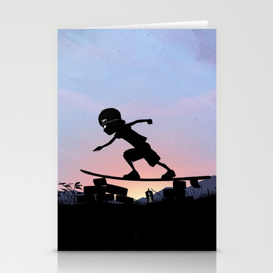 Silver Surfer Kid Stationery Cards