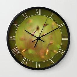 Moss Impression Wall Clock