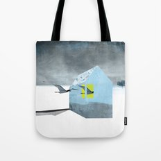 Arctic birds of a feather Tote Bag