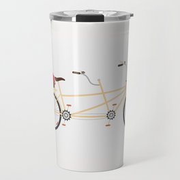 Love Bicycle Travel Mug