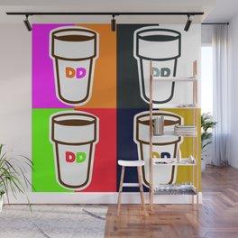Dunkin Donuts Wall Mural