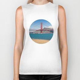 San Francisco, Golden Gate Bridge Biker Tank