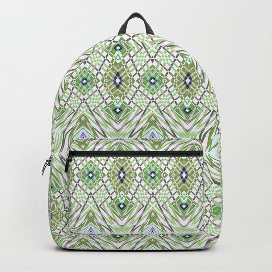 Geometric pattern .4 Backpack