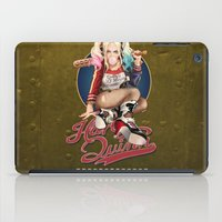 harley quinn iPad Cases featuring Harley Quinn by Reducto