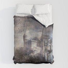 Dracula's Castle Comforters