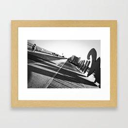 Wildwood Sign 2 Framed Art Print