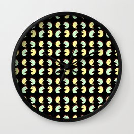 Halloween monsters--scary, haunted, horror,Halloween, l Hallows' Evening,All Saints' Eve,monster,tri Wall Clock