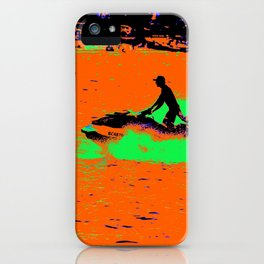 Summer Jetting - Jet Ski Fun iPhone Case