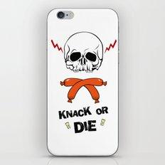 Knack Or Die iPhone & iPod Skin