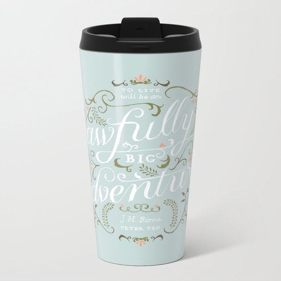 Big Adventure Metal Travel Mug