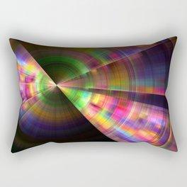 Spinning Spectrum Rectangular Pillow
