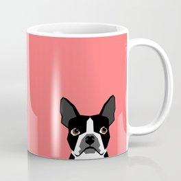 Kennedy - Boston Terrier cute dog themed gifts for small dog owners and Boston Terrier gifts  Coffee Mug