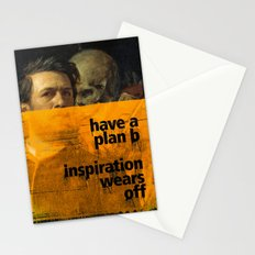 Have a plan B. Inspiration wears off. A PSA for stressed creatives. Stationery Cards