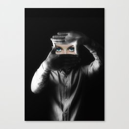 Can you see the real me Canvas Print