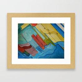Microworld Framed Art Print