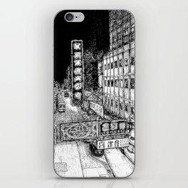 Mong Kok Nights (B&W) iPhone Skin