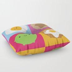 Kawaii Breakfast Floor Pillow