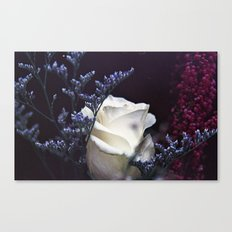 Film and Flowers Canvas Print