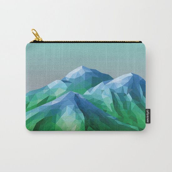 Night Mountains No. 40 Carry-All Pouch