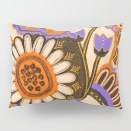 Psychedelic Flowers Pillow Sham