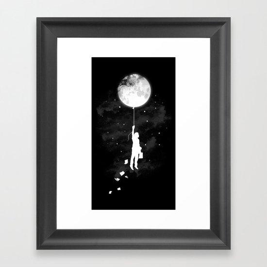 Midnight Traveler Framed Art Print