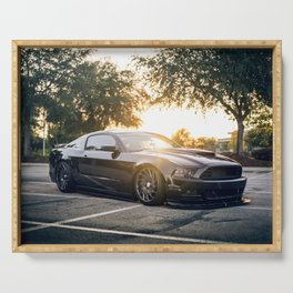 Muscle Car Serving Tray
