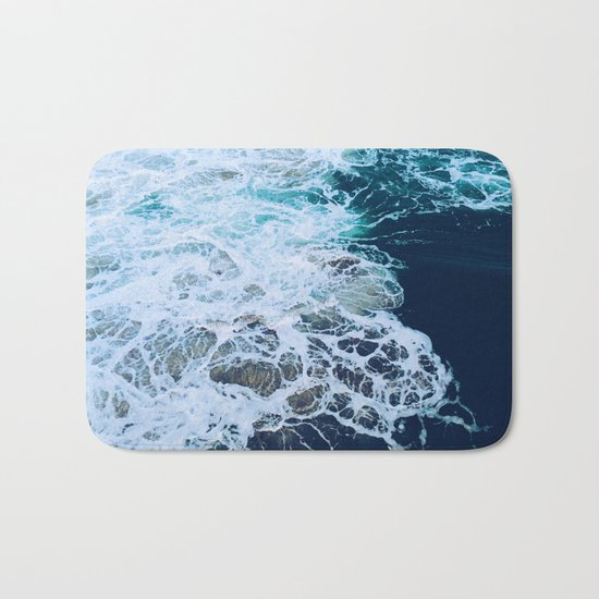 Wonderful Waves Bath Mat