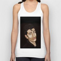 alex turner Tank Tops featuring Alex Turner by Alfonso Aranda