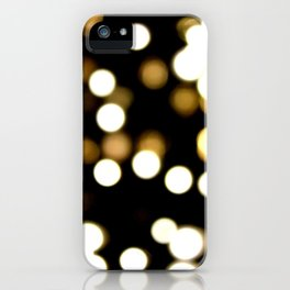 scattered light iPhone Case