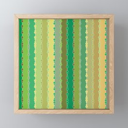 Multi-faceted decorative lines 8 Framed Mini Art Print
