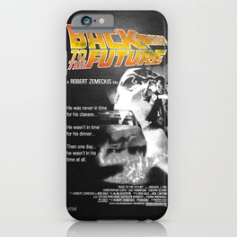 Back to The Future 2 Colors iPhone Case